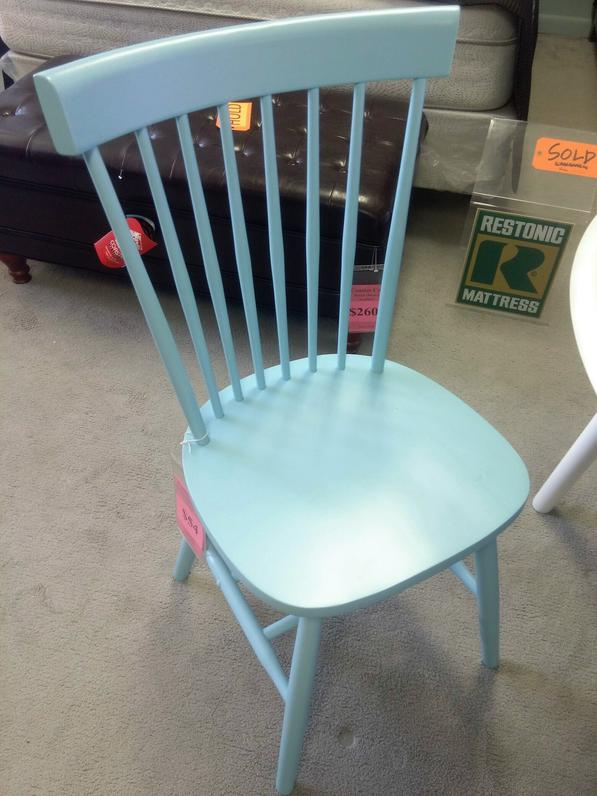 Dining Chair, Light Blue Coaster Co. $54