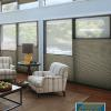 Keep your whole home comfy and warm this winter with insulating shades from Hunter Douglas. Enjoy valuable rebates on qualifying purchase during the Energy Smart Style Savings Event. Rebates end 4/9/18.*  Duette Honeycomb Shades