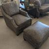 Renee Leather Chair Norwalk $1,860  Renee Ottoman Norwalk $733