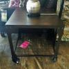 End Table w/ Wheels Coaster Co. $260